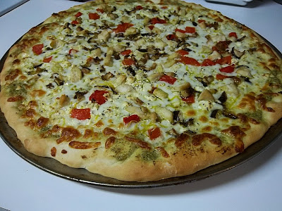 Mediterranean Chicken Pizza