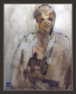 SKORZENY-SS-JAGDVERBANDE-FRIEDENTHALER-ART-WW2-PAINTINGS-PINTURA-SEGUNDA GUERRA MUNDIAL-COMANDOS-ERNEST DESCALS-