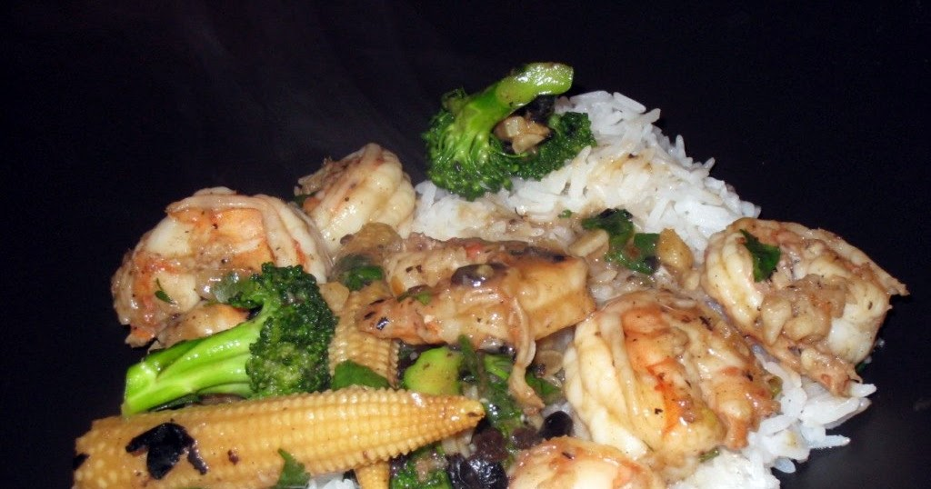 Global Grub: Shrimp in Black Bean Sauce