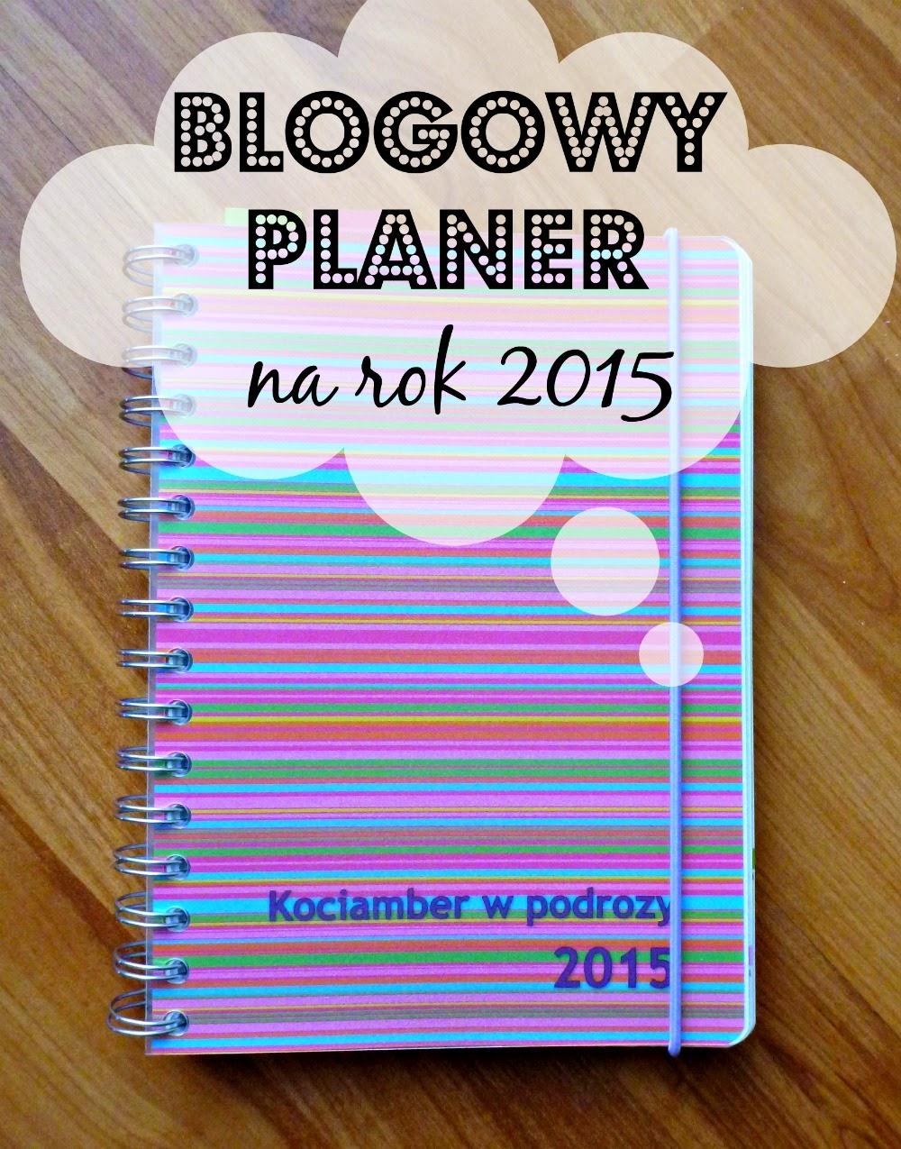 Blogowy planer - kalendarz 2015