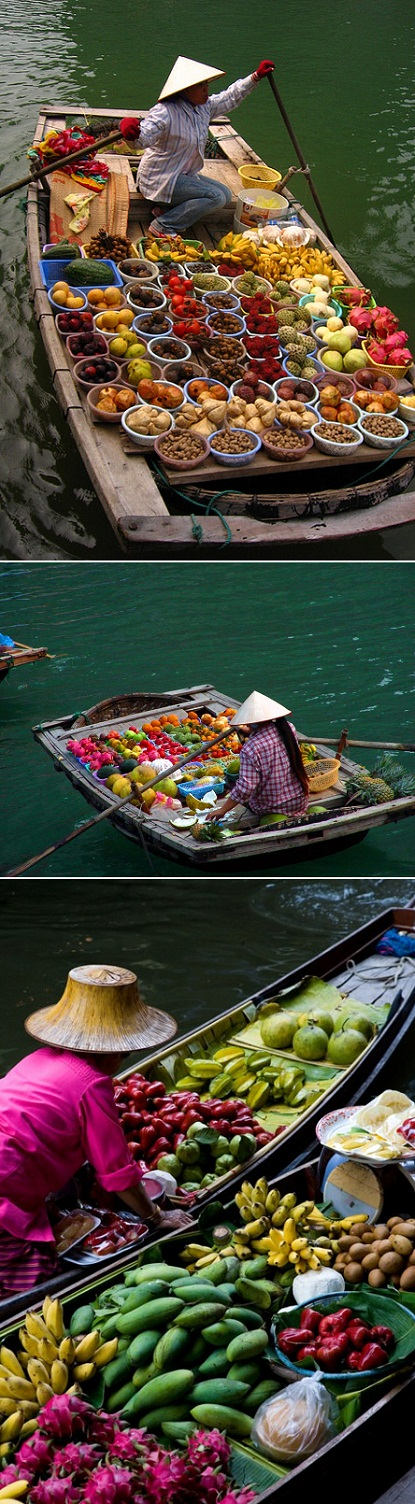 exPress-o: The Floating Market In Thailand