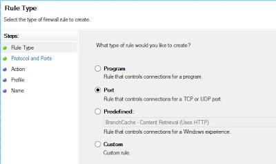 Adjust Windows 8 Firewall   Settings