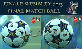 Download Ball Final Wembley PES 2013 by Skills_Rooney
