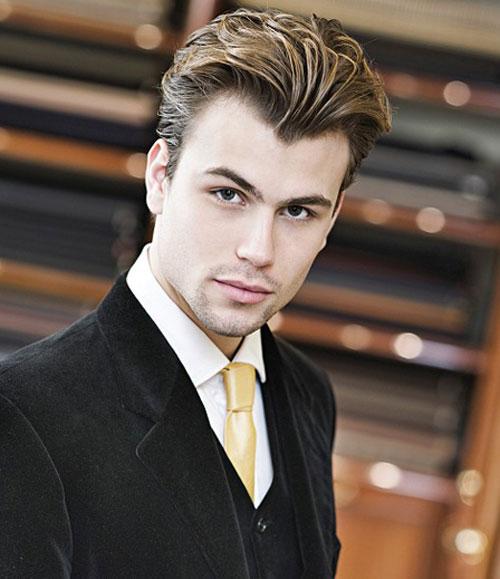 Peinados a la moda peinados de fiesta para hombres 2013 - Peinados de moda para hombre ...