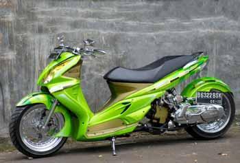 Modifikasi Suzuki Skywave