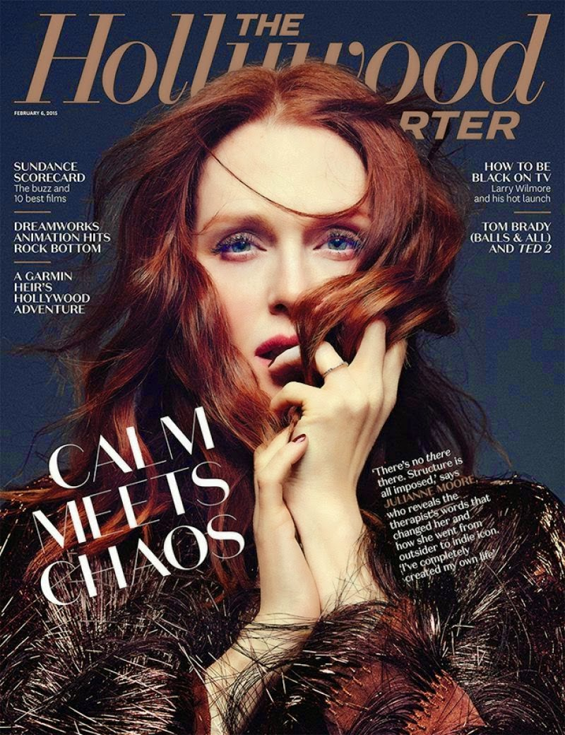 Actress, Children's Author: Julianne Moore For The Hollywood Reporter EUA