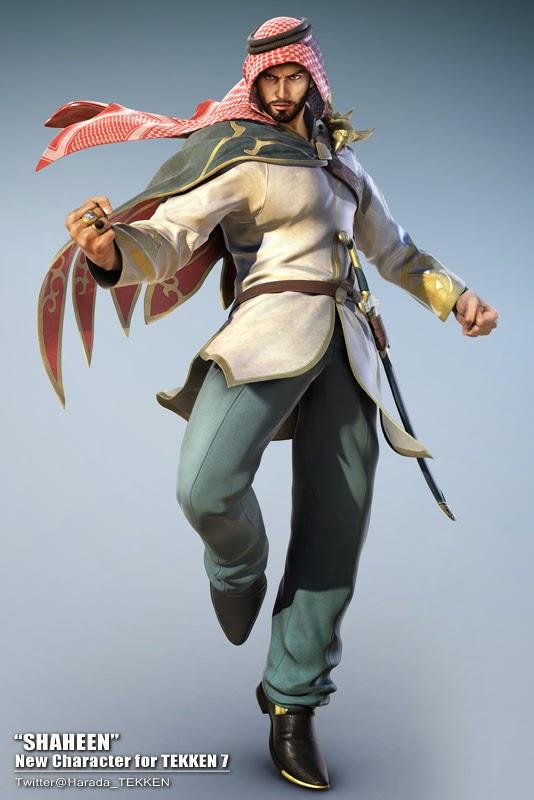 Shaheen, karakter game Tekken 7 yang berasal dari Arab Saudi