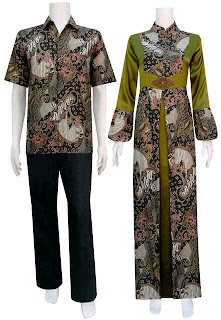 Busana Muslim Batik bgs 9
