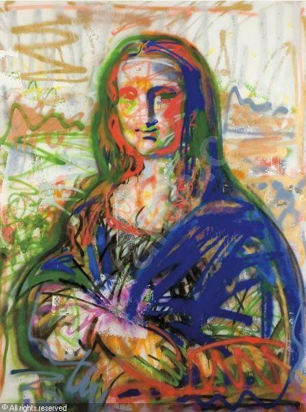 Valery Koshlyakov Mona Lisa