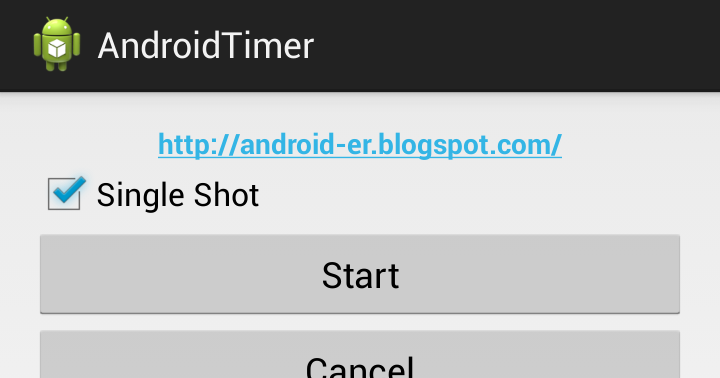 Android er example of using timer and timertask on android - Er finestra android ...
