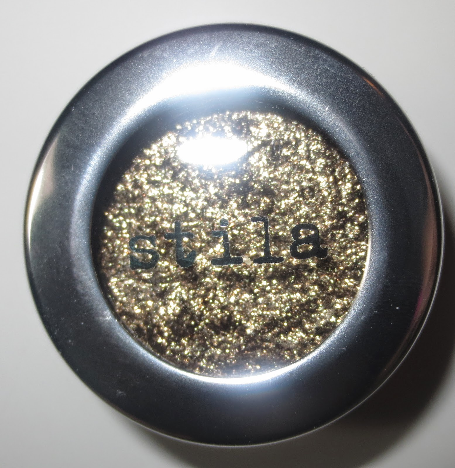 Stila Magnificent Metals Foil Finish Eye Shadow - Vintage Black Gold