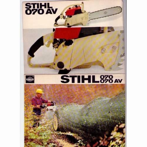 Motosierra Stihl Antigua - Vintage/Old Stihl Chainsaw
