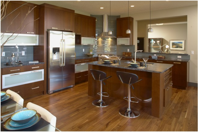 Transitional kitchen ideas room design inspirations for Transitional kitchen design