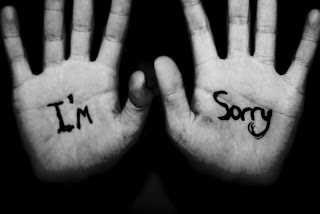 "im sorry Saying ""Im sorry"" is just the beginning of our commitment to behave......"