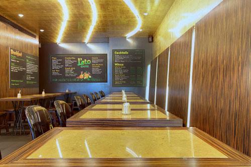 L'Eto Caffe' interior