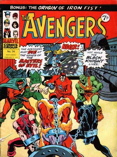 Marvel UK, the Avengers #74, Masters of Evil