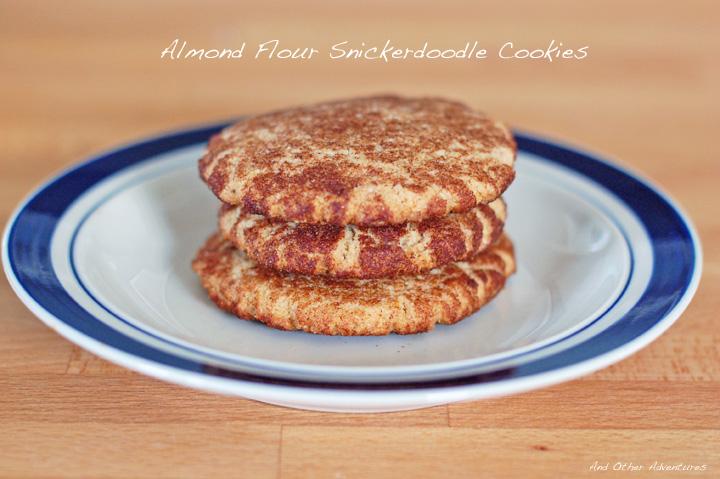 almond flour snickerdoodle cookies