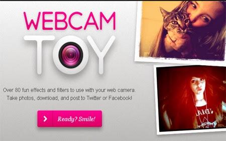 Foto Langsung Dengan Web Camera Online