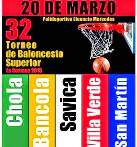 Apoya el Torneo de Baloncesto!