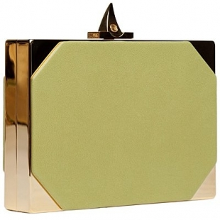 yeşil kutu el çantası