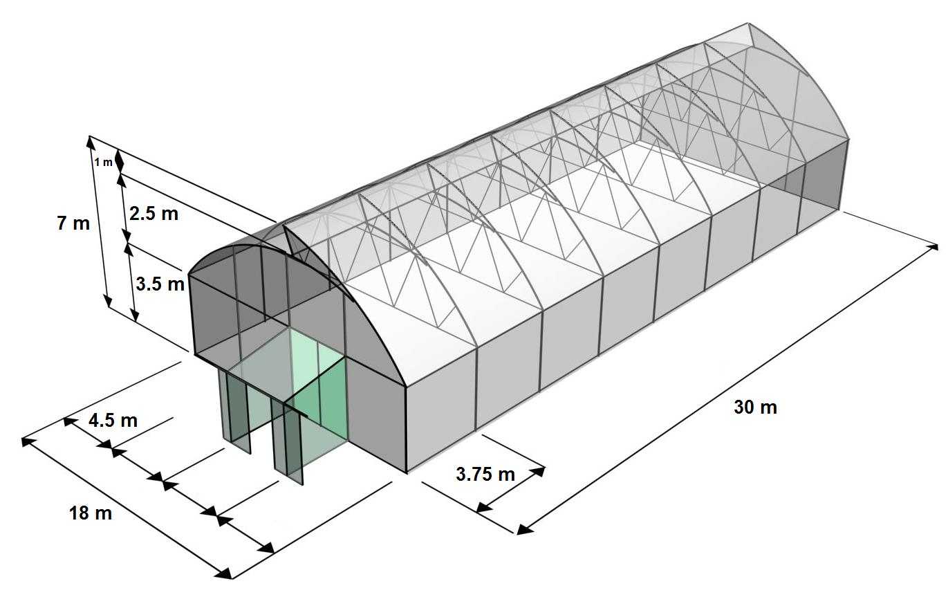 Innovaagro invernaderos agroanuncios mx for Construccion de viveros e invernaderos