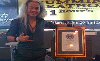Kunto Hartono – Penabuh Drum Terlama - 7 Rekor Dunia Asal Indonesia