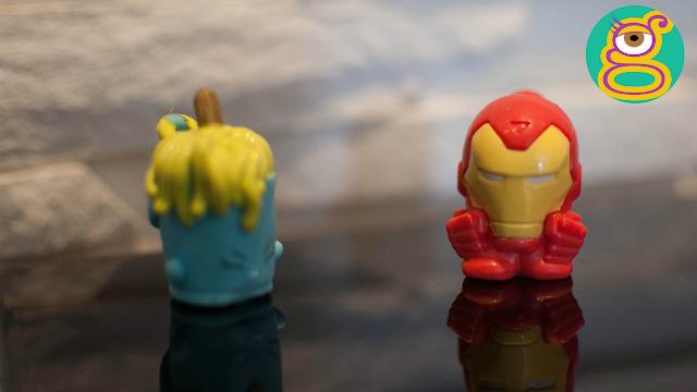 Shopkins micro lite Molly Mops y Iron man micro lite - Shopkins micro lite blind bags and Avengers micro lite