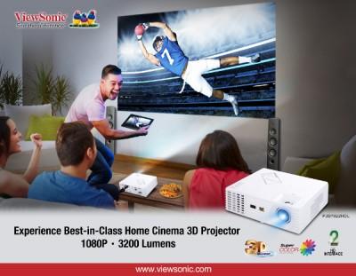 ViewSonic Rilis Proyektor Full HD Cocok untuk Home Entertainment