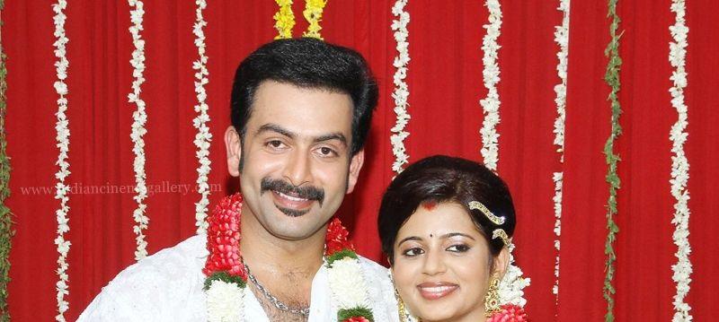 Prithviraj Sukumaran Wedding Pics