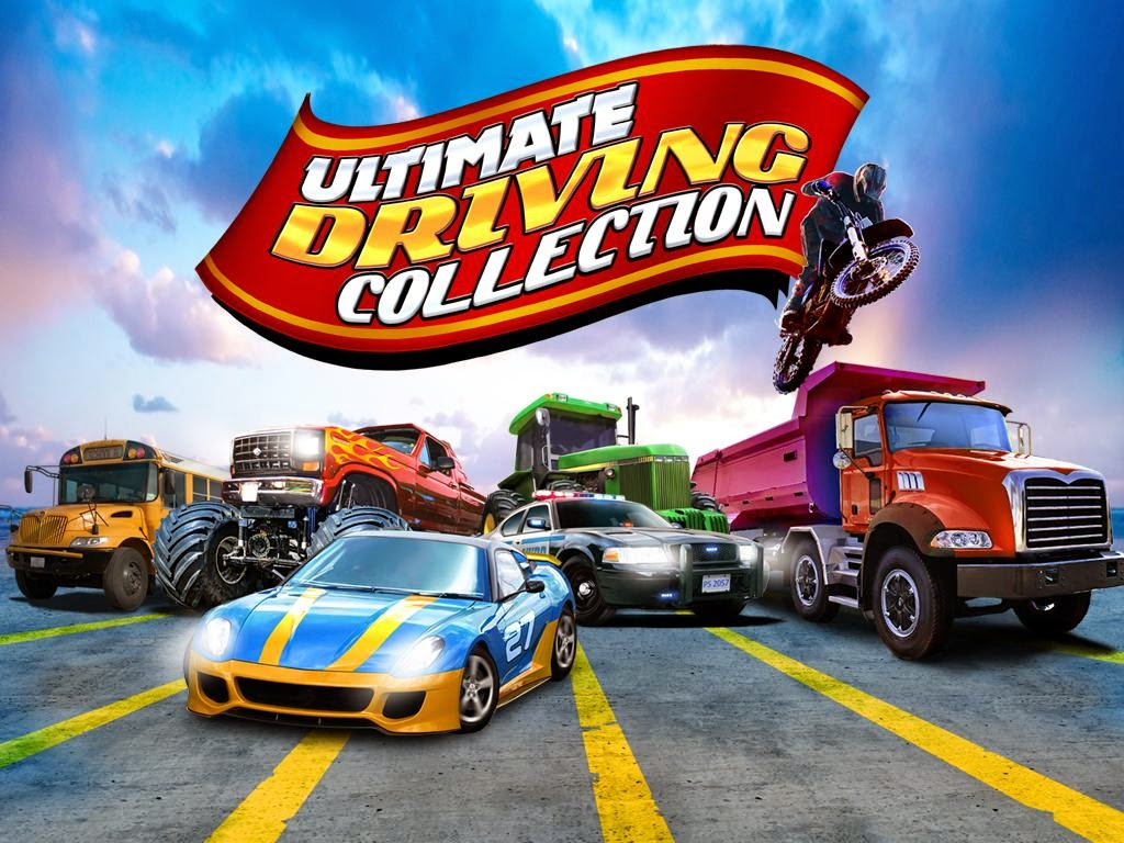 Ultimate Driving Collection 3D v1.00 APK+DATA (Mod Money)