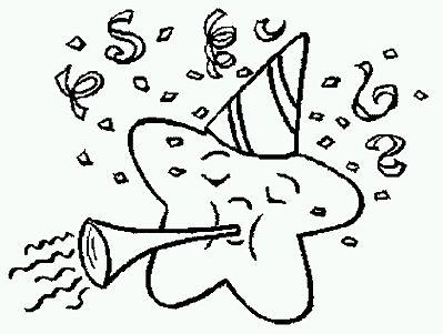 Dibujos De Cumpleanos Para Pintar Parte_12 on Kitty Kindergarten Worksheet