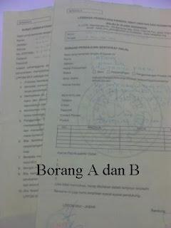 Borang A dan B