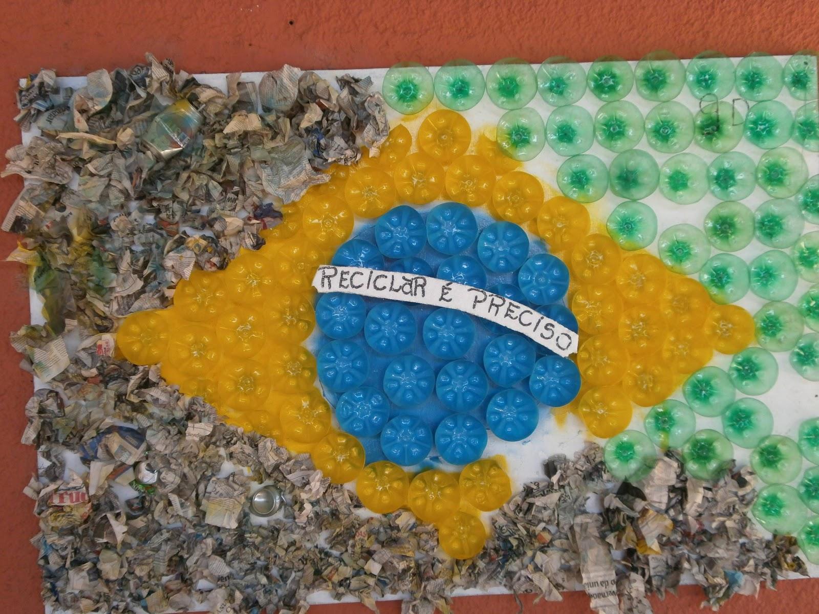 """Faça do """"Meio Ambiente"""" o seu """"Meio de Vida"""": Murais da Escola"""