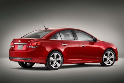 2011-Chevrolet-Cruze-Rear-Side-View-Red-Color