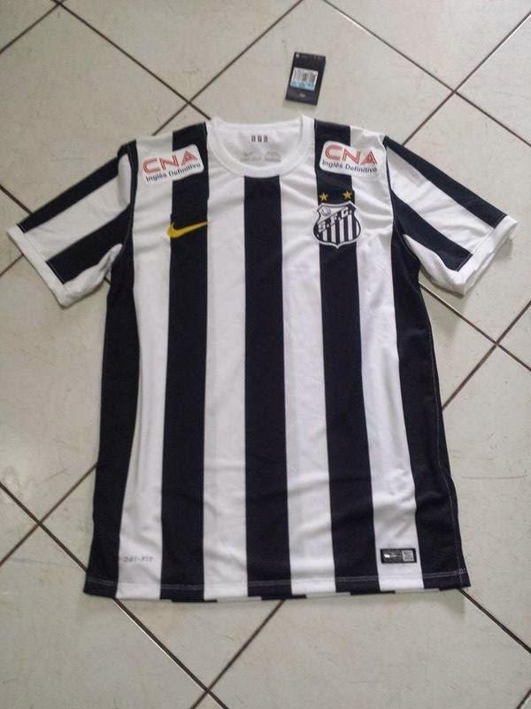Nike divulga nova camisa do Santos 49839fd16e539