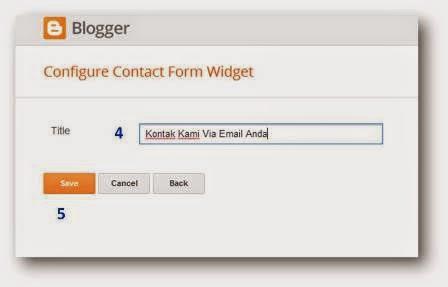 widget kontak kami di blogspot