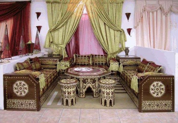 Farkli tasarimlar oturma gruplari Arab Odası