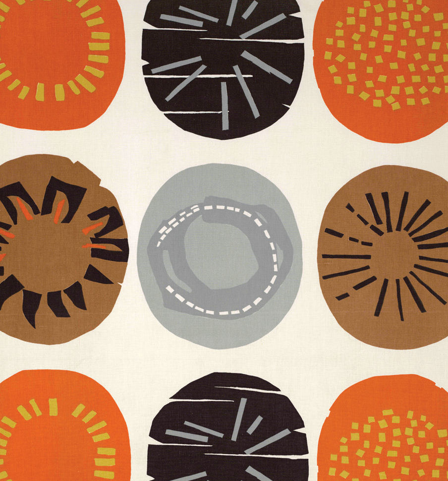 The Meadowtree Journal Lucienne Day The Orange Lookbook