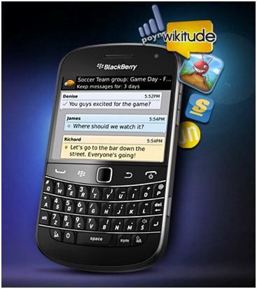 BlackBerry OS5 Bisa Nelpon Gratis Dengan BBM