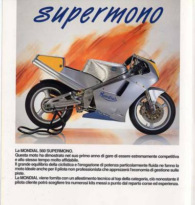 Mondial 560 Supermono