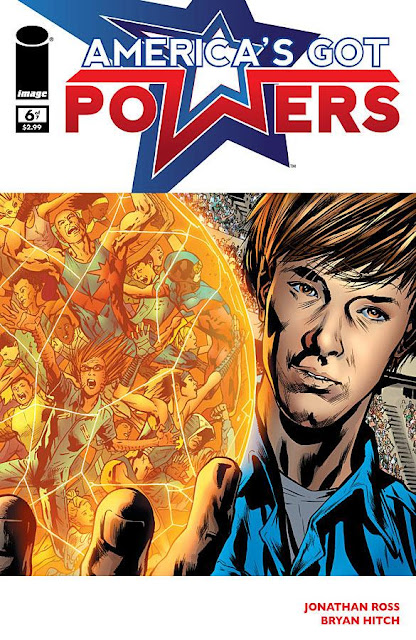America's Got Powers # 6 - Jonathan Ross Bryan Hitch