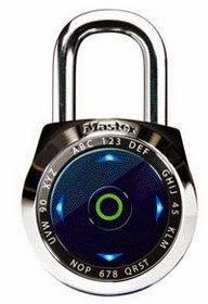 masterlock 1500eDX digital padlock