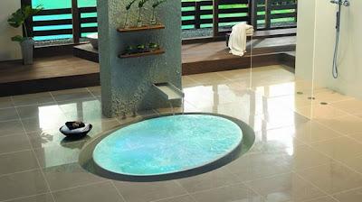 baño zen minimalista