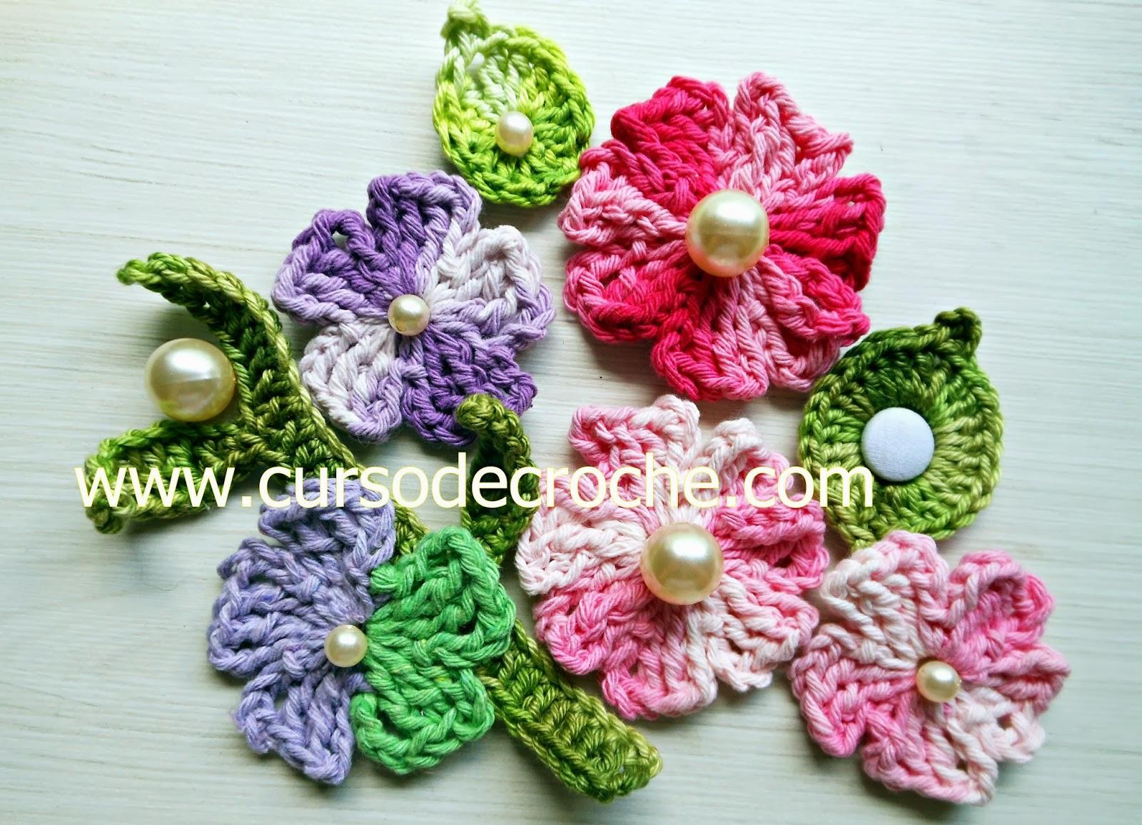 dvd coleção flores em croche 5 volumes na loja curso de croche com frete gratis para qualquer lugar do Brasil