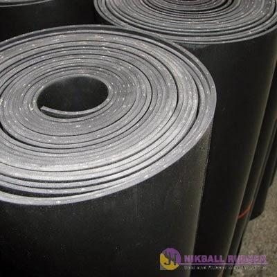 rubber sheet / lembaran karet