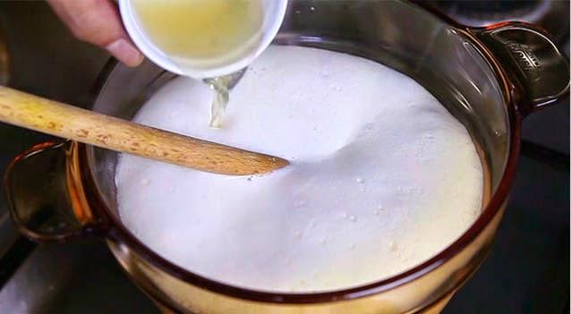 queso fresco hecho en casa paso 3