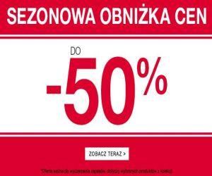 Sezonowa obniżka cen do 50% na odzież F&F