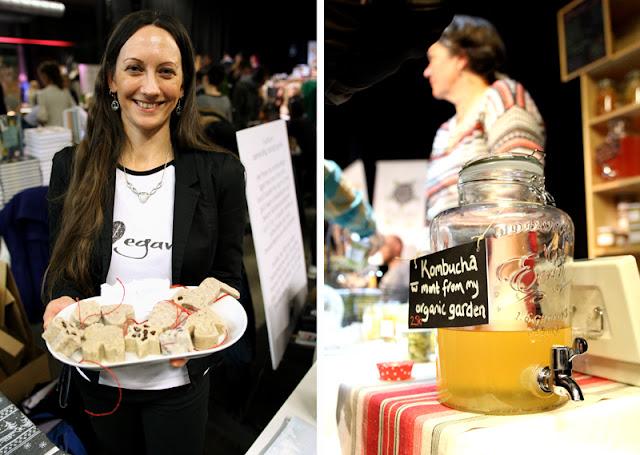 Vegansk Julefestival 2015 Dyretolk Isabella Faye The Fermented Guru