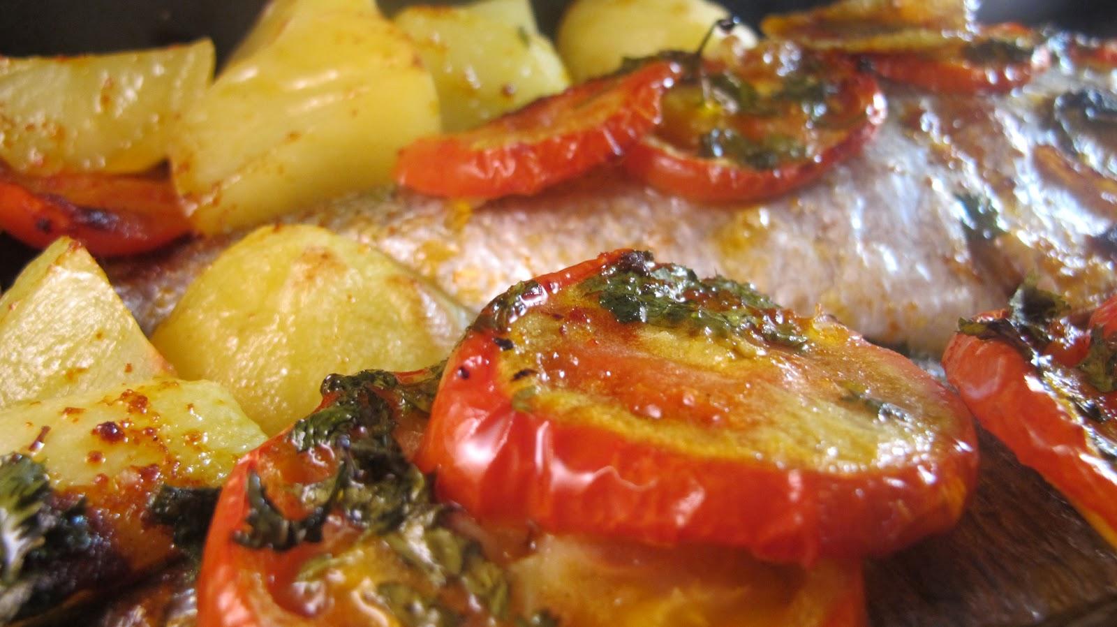 Daurade au four la portugaise le blog de cuisine en bouche - Cuisine portugaise la rochelle ...