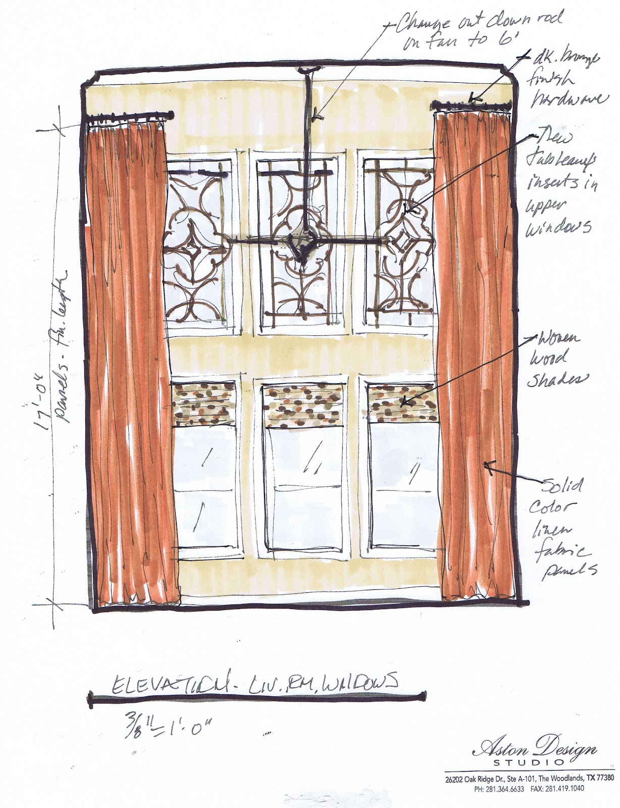 Design in the woods e design for Window design sketch